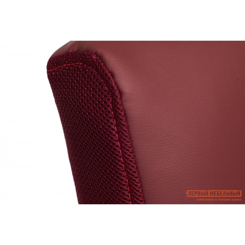 Офисное кресло  Trendy New Кож/зам/ткань, бордо / бордо, 36-7/13 (фото 7)