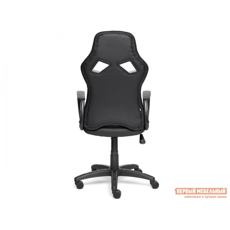Офисное кресло  RUNNER military Ткань принт хаки / Иск. кожа черный / Сетка кор/сер (фото 4)