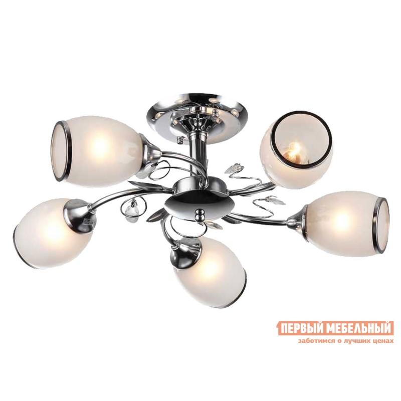 Потолочная люстра  Люстра потолочная MD.1473-5-S CH 5*60Вт E27 Хром / Белый