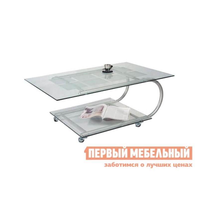 Журнальный столик  Дуэт-10 Металлик