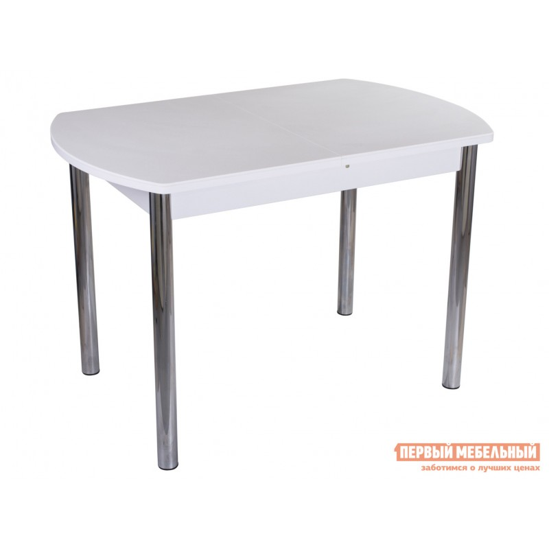 Кухонный стол  Обеденный стол Румба ПО КМ Белый 04 / Белый БЛ, Большой