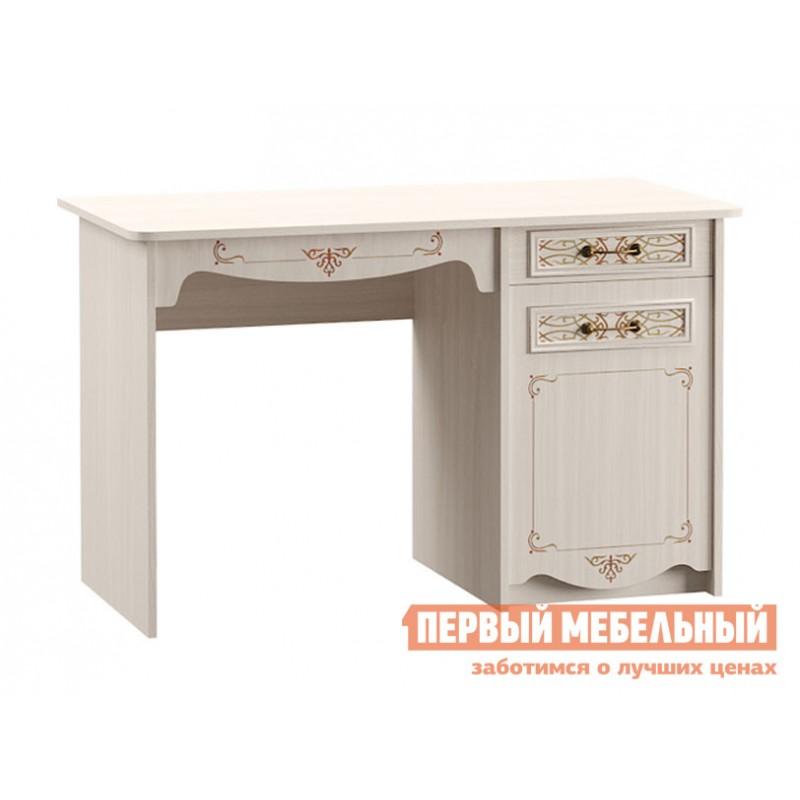 Компьютерный стол детский  Стол письменный Флоренция 12.24 Ясень Анкор светлый