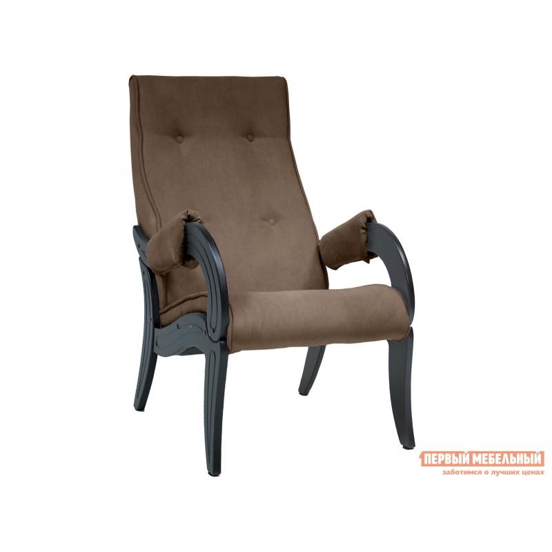 Кресло  Кресло для отдыха Комфорт Модель 701 Венге, Verona Brown, велюр