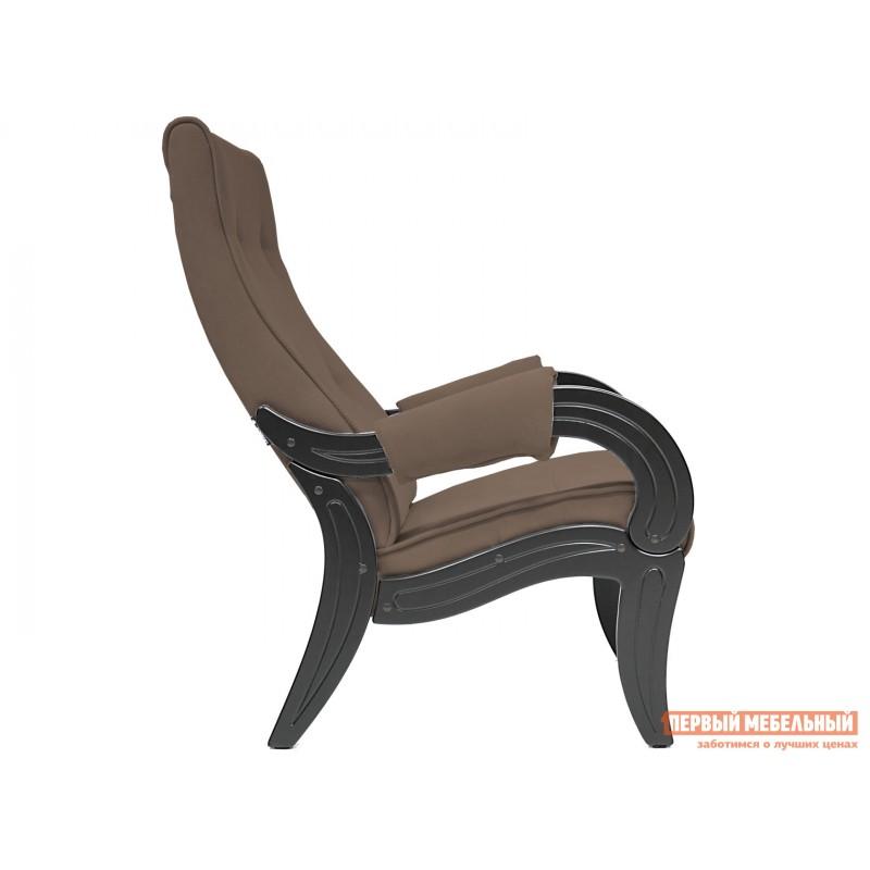 Кресло  Кресло для отдыха Комфорт Модель 701 Венге, Verona Brown, велюр (фото 2)