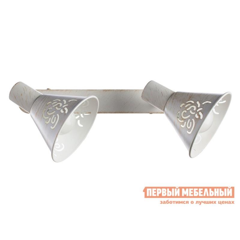 Бра  Спот CONO A5218AP-2WG Бело-золотой