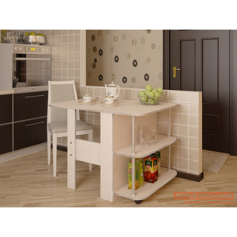 Кухонный стол  Стол-книжка Луиза Дуб атланта (фото 3)