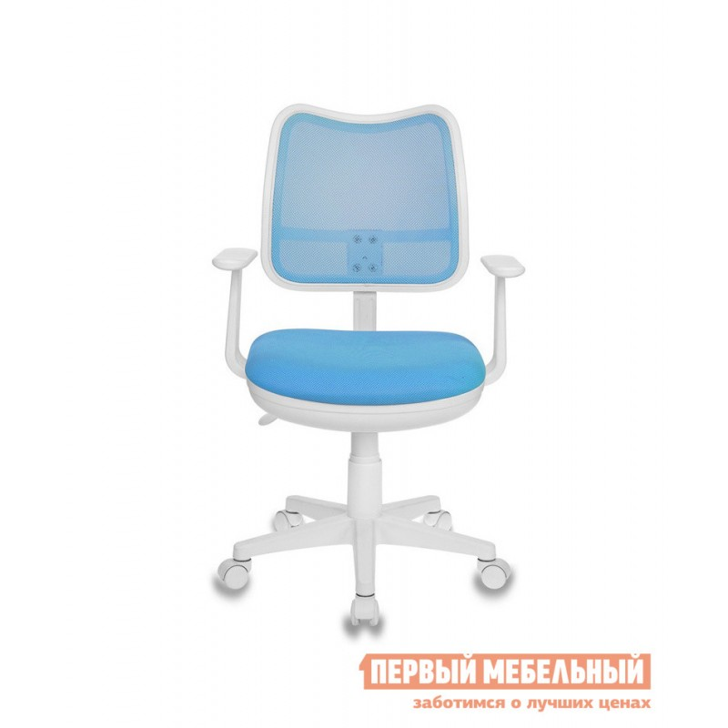 Детское компьютерное кресло  CH-W797 TW-55 Светло голубой (фото 3)