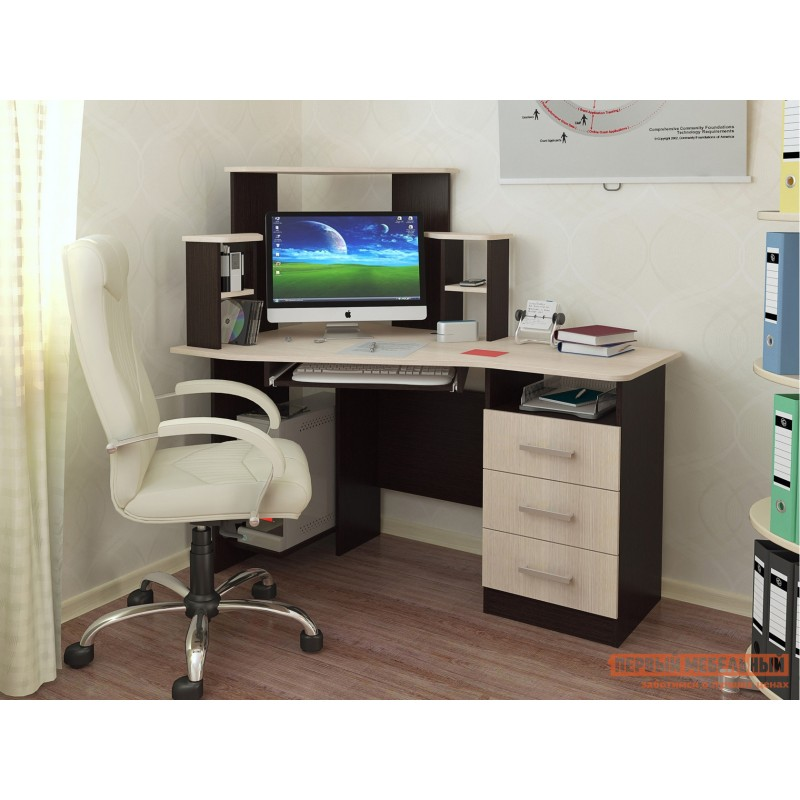 Компьютерный стол  Каспер Венге / Лоредо (фото 2)