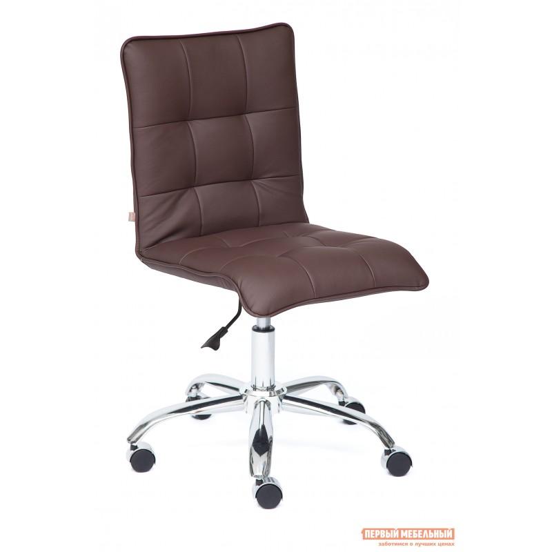 Офисное кресло  ZERO Кож/зам, коричневый, 36-36