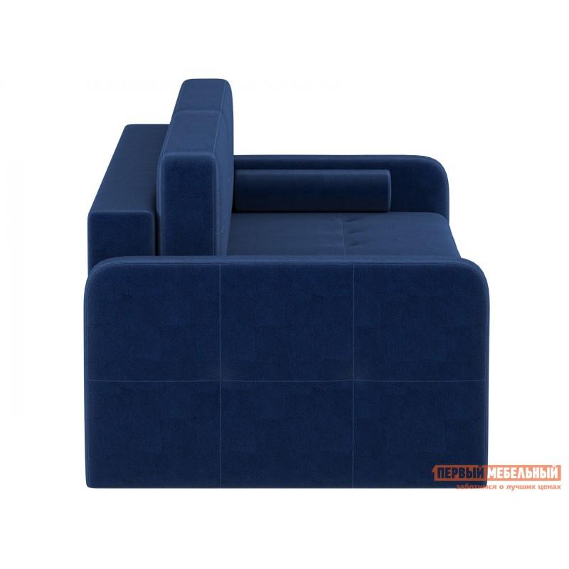 Прямой диван  Диван Буено Люкс Синий, велюр (фото 2)