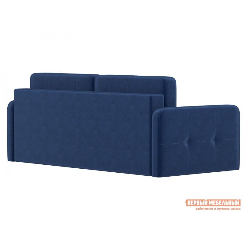 Прямой диван  Диван Буено Люкс Синий, велюр (фото 3)