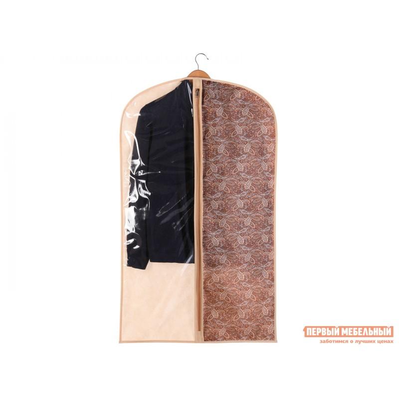 Кофр  Чехол для одежды малый 60х100см Русский Шик, спанбонд