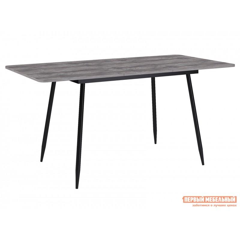 Кухонный стол  Стол Dikline L122  Черный / Дуб Бардолино серый (фото 2)