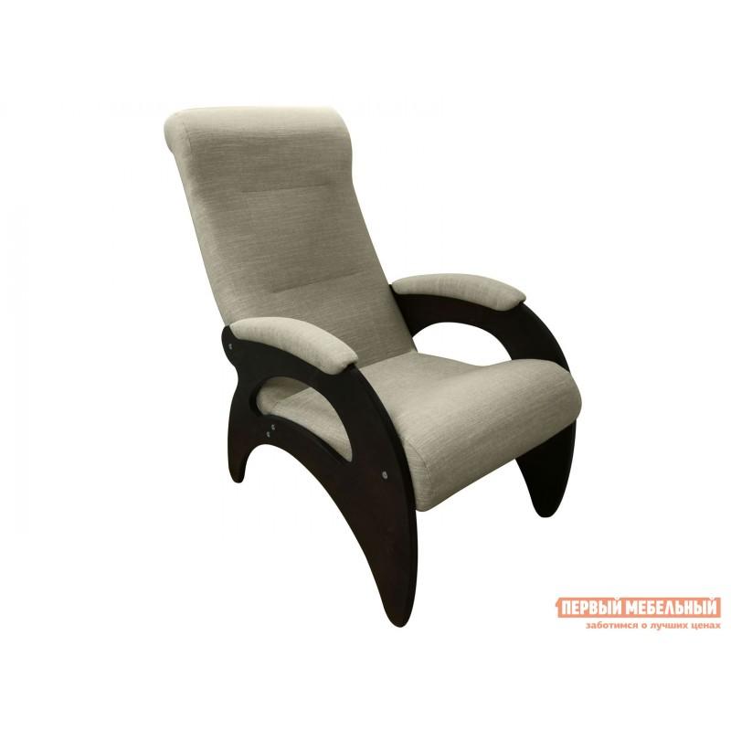 Кресло  Кресло Мария Темный орех / Серебристый, рогожка