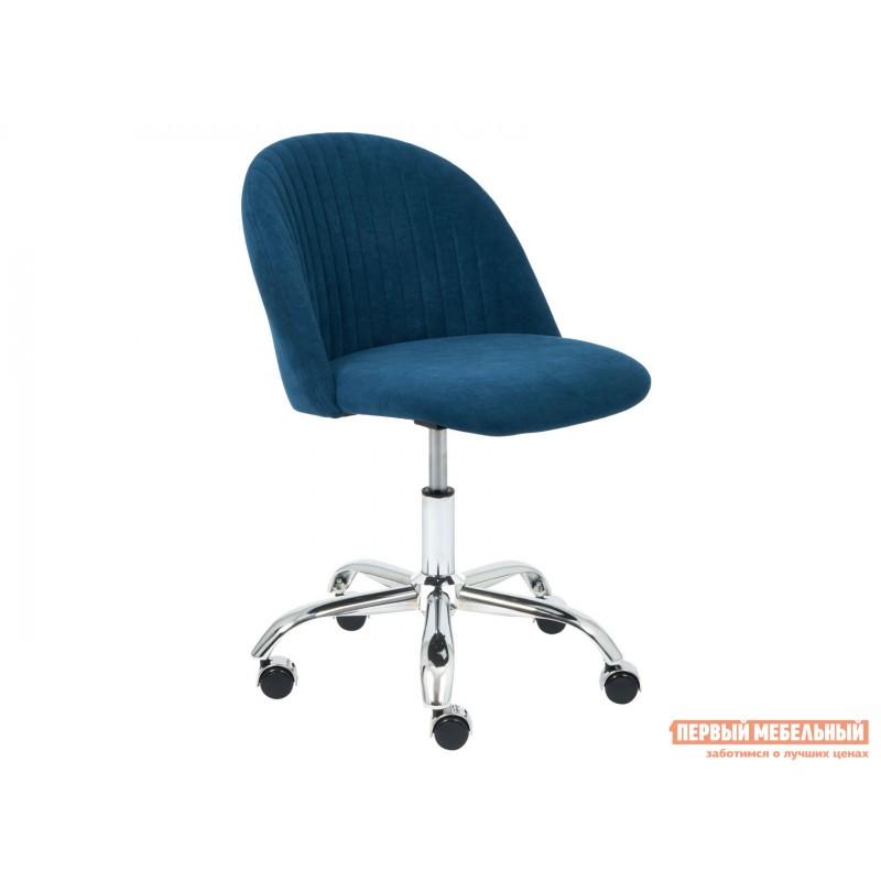 Офисное кресло  MELODY Синий, флок