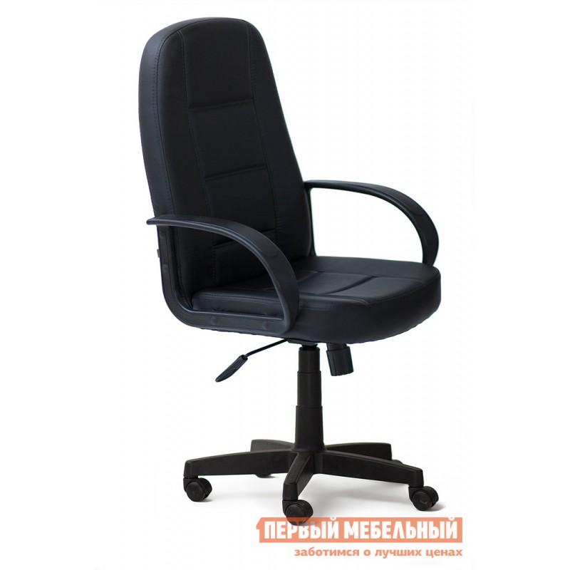 Кресло руководителя  СН747 Иск. кожа черная PU C36-6