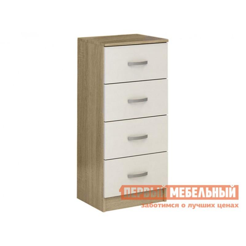 Комод  Комод Финк-044 Дуб сонома / Белый