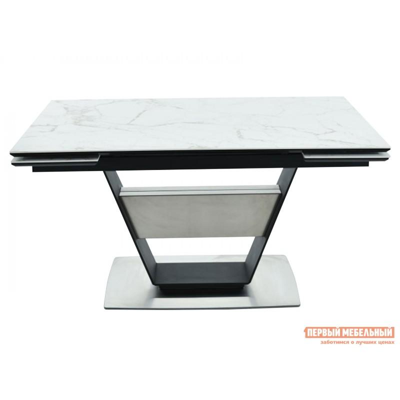 Кухонный стол  Мальта Calacata vagli / Черный, металл (фото 2)