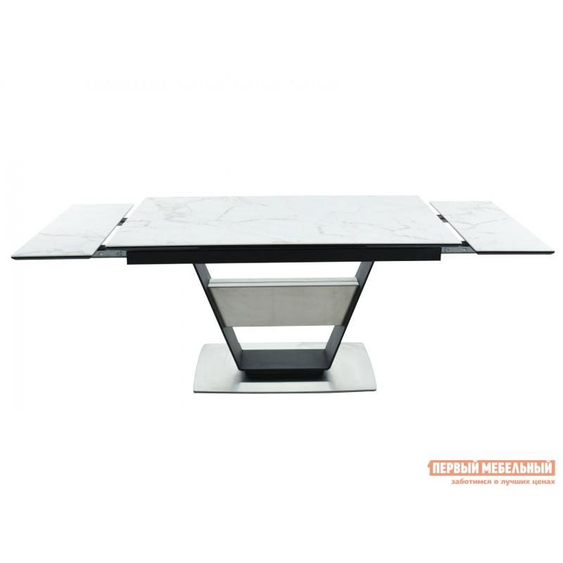 Кухонный стол  Мальта Calacata vagli / Черный, металл (фото 5)