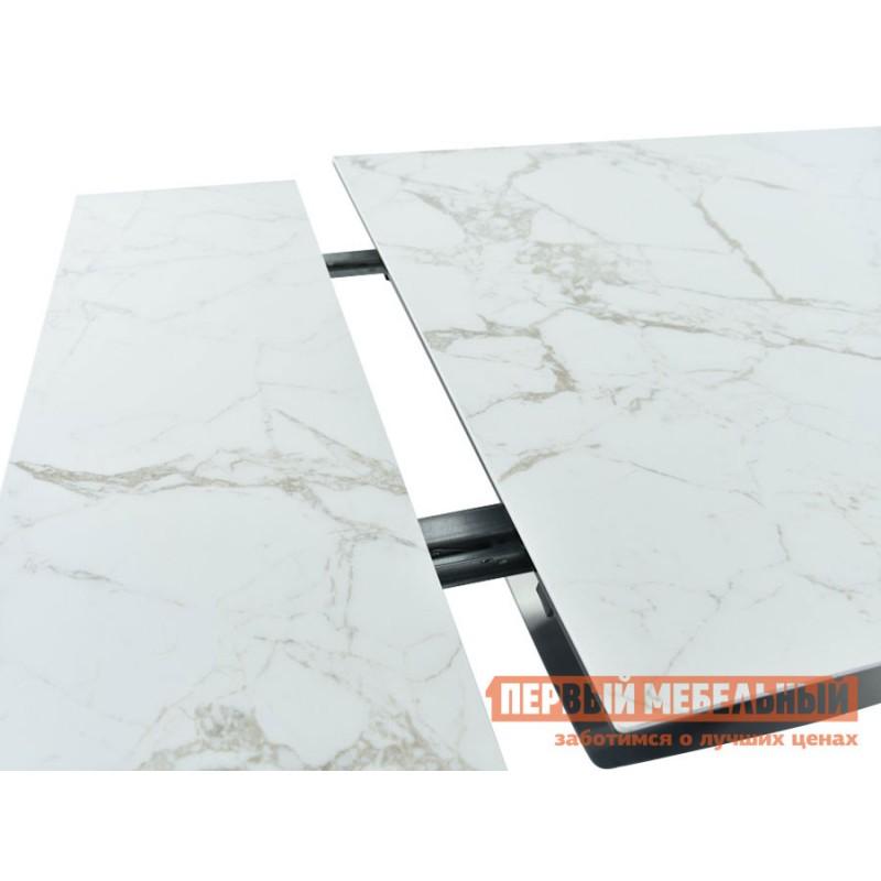 Кухонный стол  Мальта Calacata vagli / Черный, металл (фото 6)