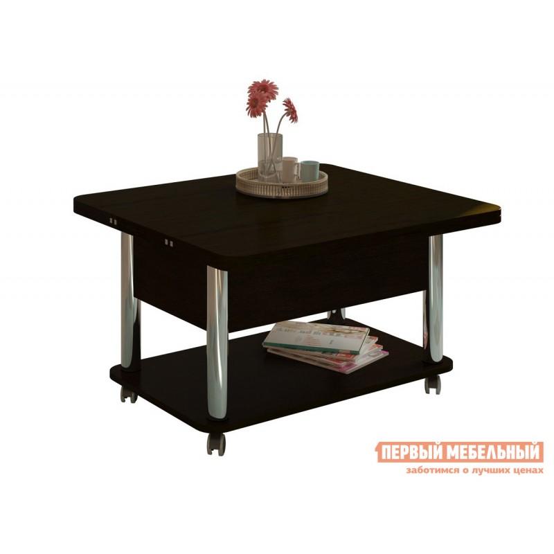 Кухонный стол  Стол-трансформер Гросс Хром / Венге темный, Венге темный