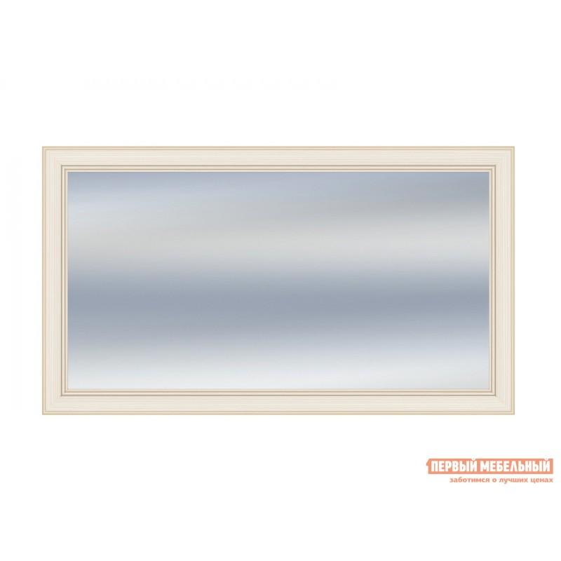 Настенное зеркало  Зеркало Сиена Бодега белый, патина золото