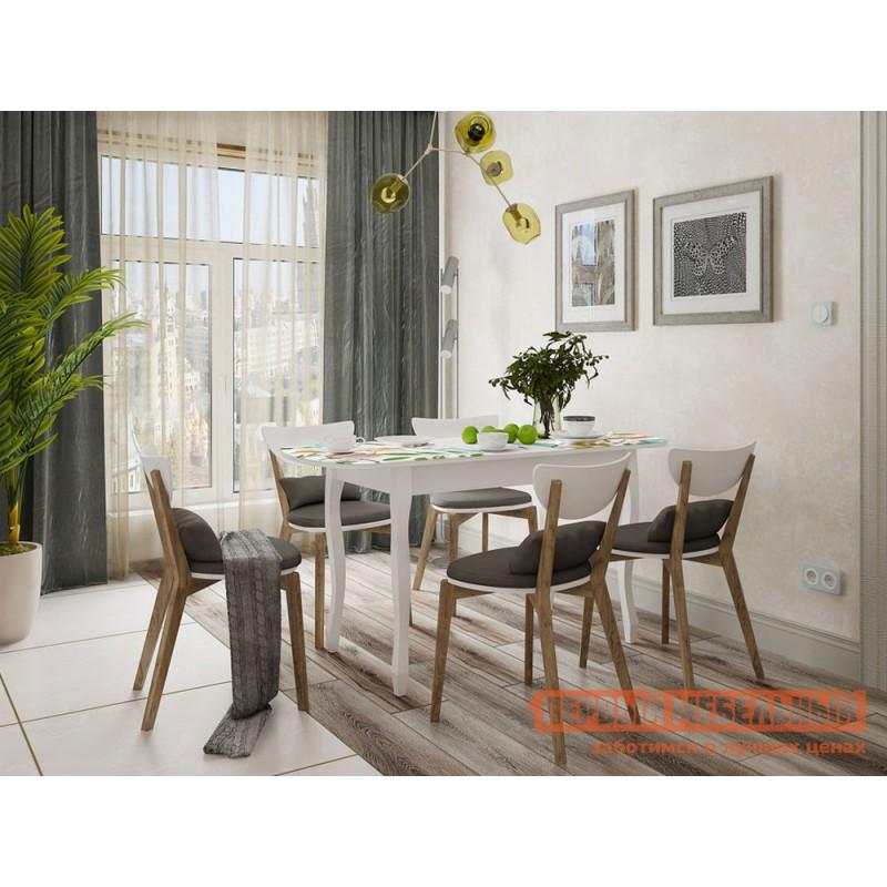 Кухонный стол  Экстра 2 Белый / Весна (фото 5)