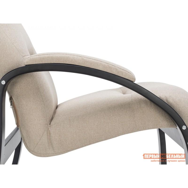 Кресло  Кресло Лион Люкс Черный / Бежевый, жаккард (фото 5)