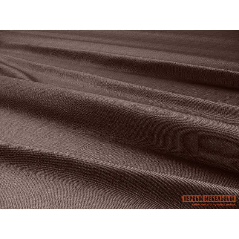 Шторы  Портьера ШП(391-10), Размер 200х270 Темно-коричневый, рогожка (фото 4)
