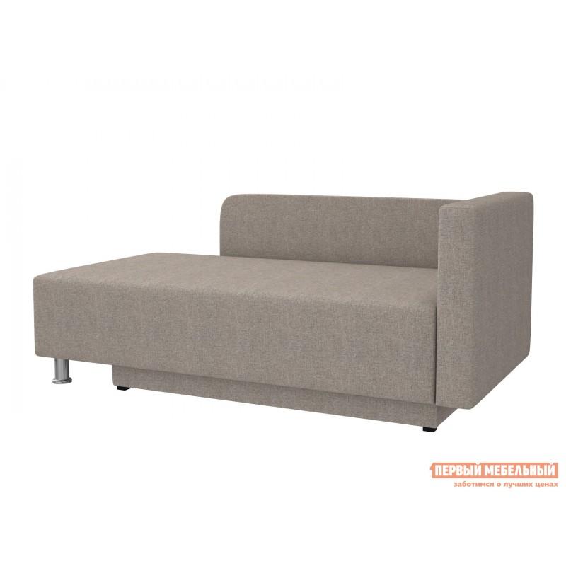 Прямой диван  Мэдисон Серо-бежевый, рогожка, Универсальная (фото 2)