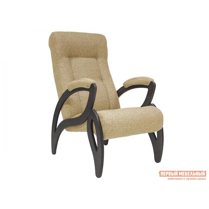 Кресло  Кресло для отдыха Комфорт Модель 51 Венге, Malta 03А, рогожка