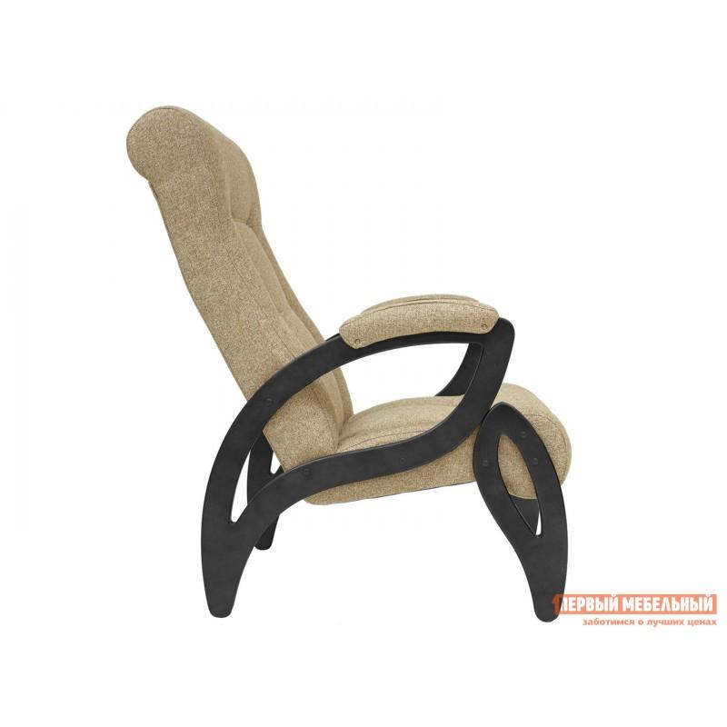 Кресло  Кресло для отдыха Комфорт Модель 51 Венге, Malta 03А, рогожка (фото 2)