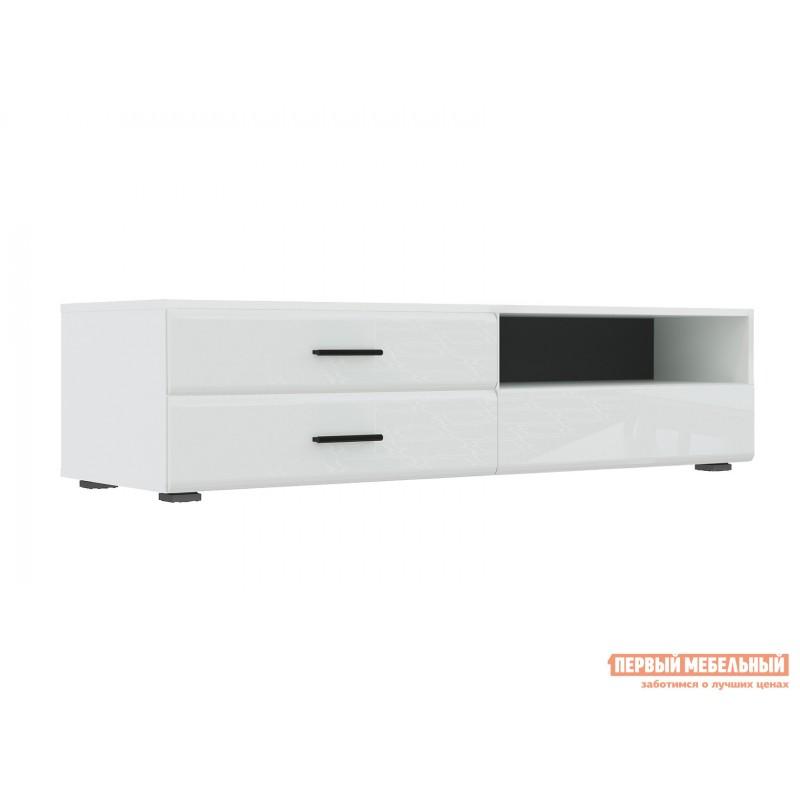 ТВ-тумба  GLOSS тумба для ТВ-140 71373138 Белый / Белый глянец