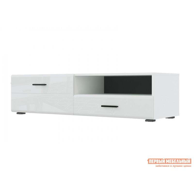 ТВ-тумба  GLOSS тумба для ТВ-140 71373138 Белый / Белый глянец (фото 2)