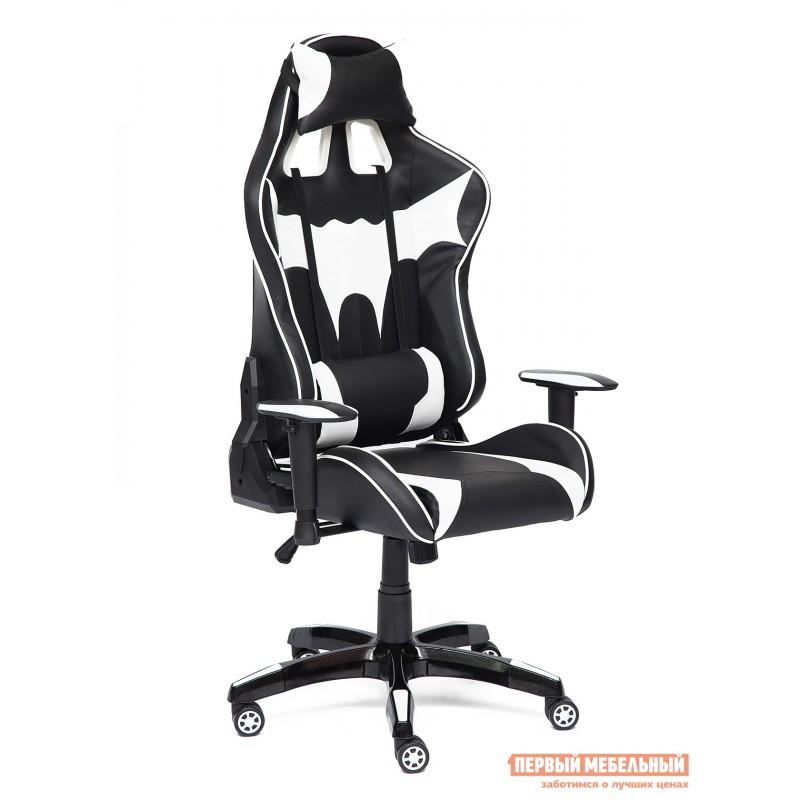 Игровое кресло  iBat Иск.кожа черная / Белая