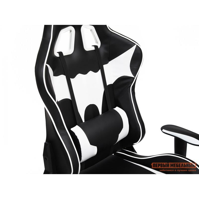 Игровое кресло  iBat Иск.кожа черная / Белая (фото 6)