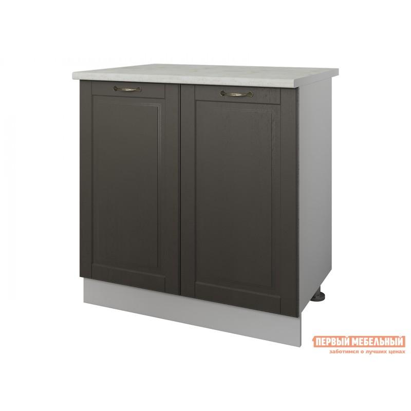 Кухонный модуль  Стол 2 двери 80 см Палермо Арабика