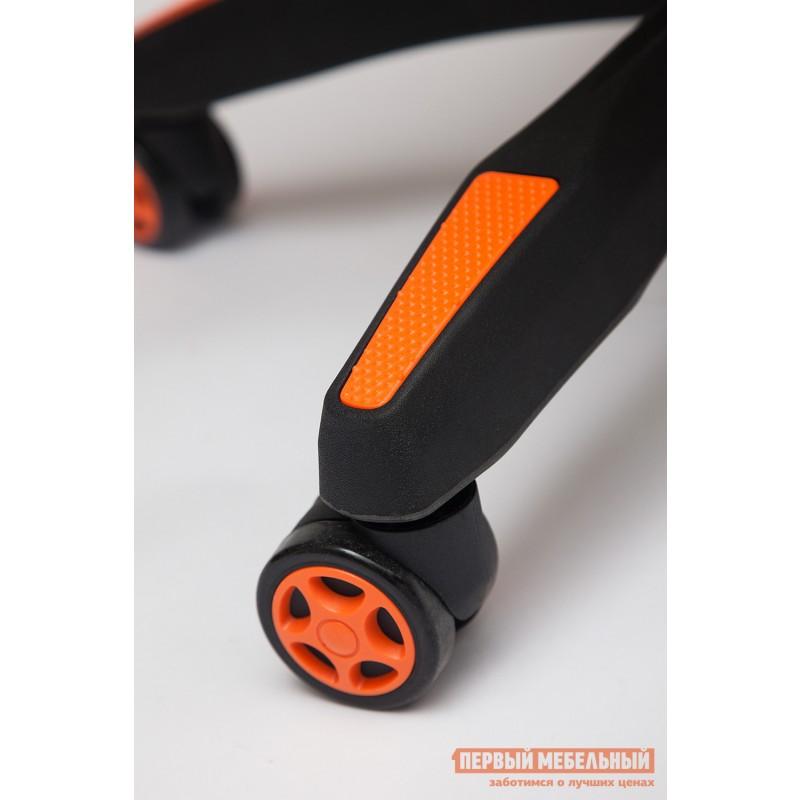 Игровое кресло  iCar Иск. кожа черная / оранжевая (фото 5)