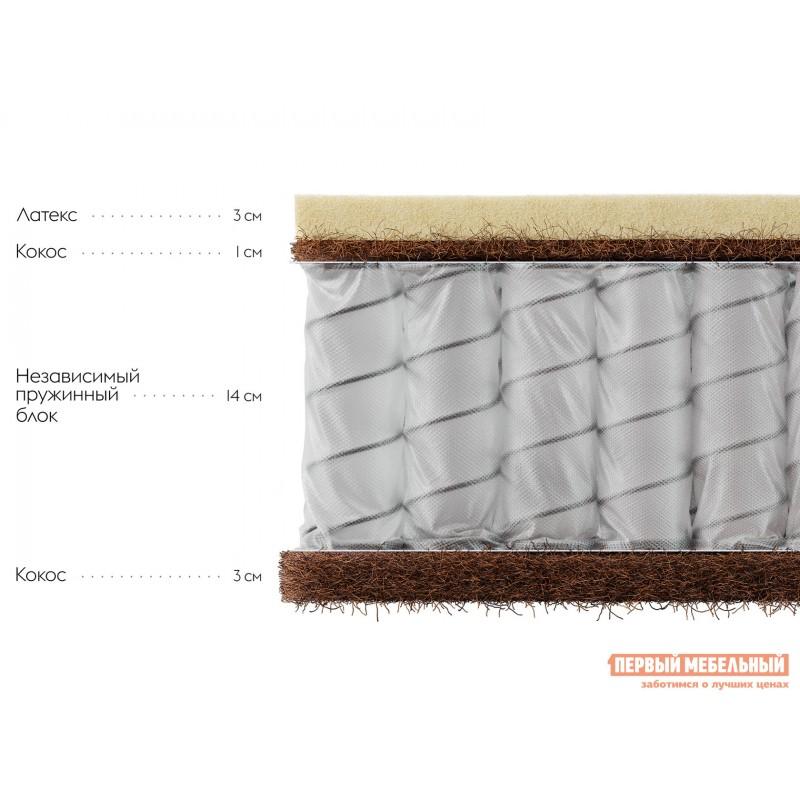 Пружинный матрас  Клермон S 23 140х190 см, Белый (фото 2)