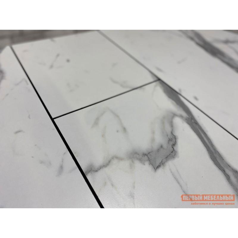 Кухонный стол  Стол Андромеда Мрамор / Черный муар, Большой (фото 8)