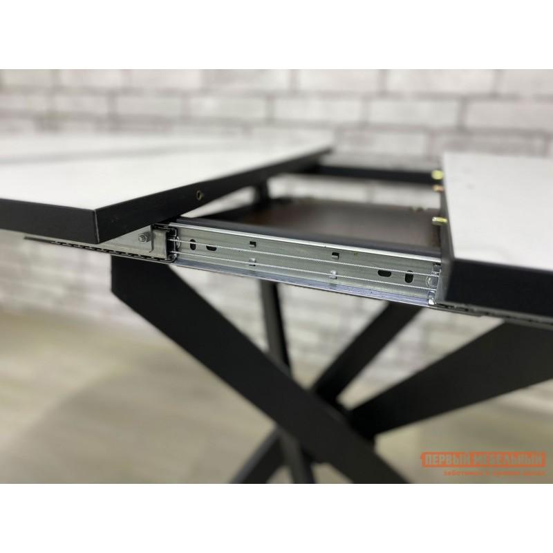 Кухонный стол  Стол Андромеда Мрамор / Черный муар, Большой (фото 10)