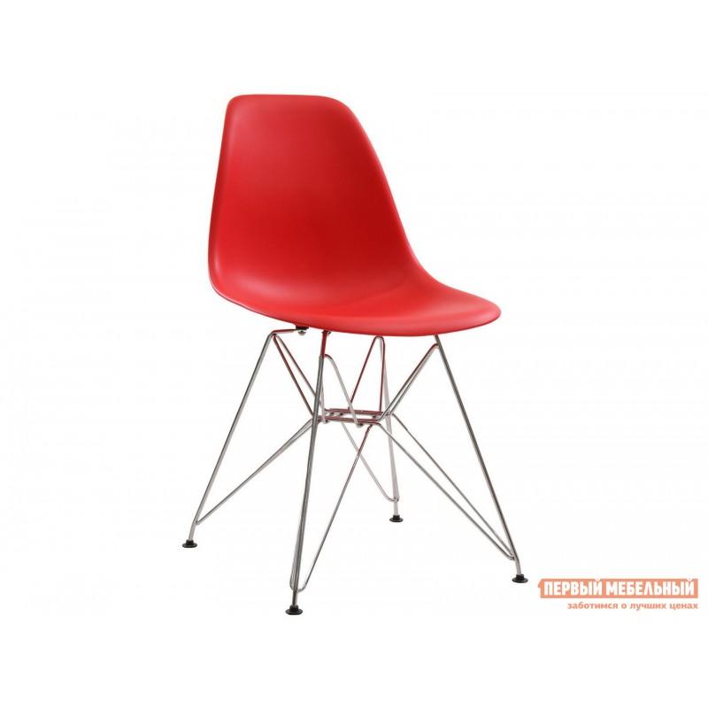 Стул  Eames chrome Красный