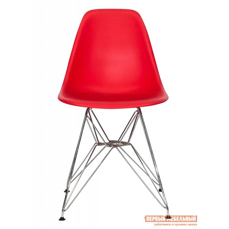 Стул  Eames chrome Красный (фото 2)