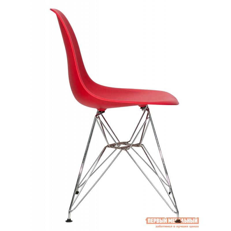 Стул  Eames chrome Красный (фото 3)