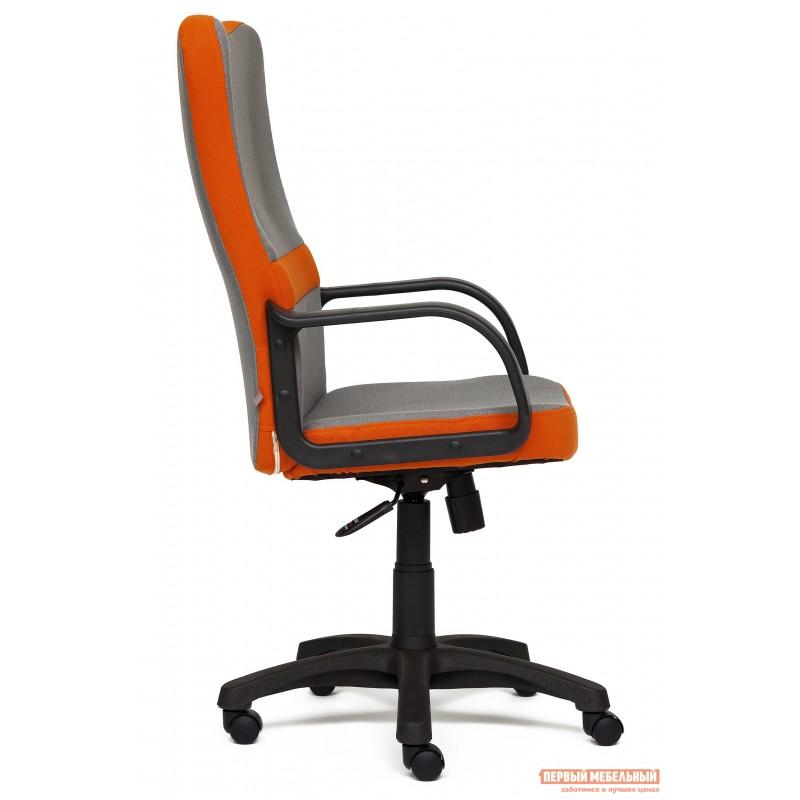 Кресло руководителя  CH757 Ткань серая/оранжевая, С27/С23 (фото 3)