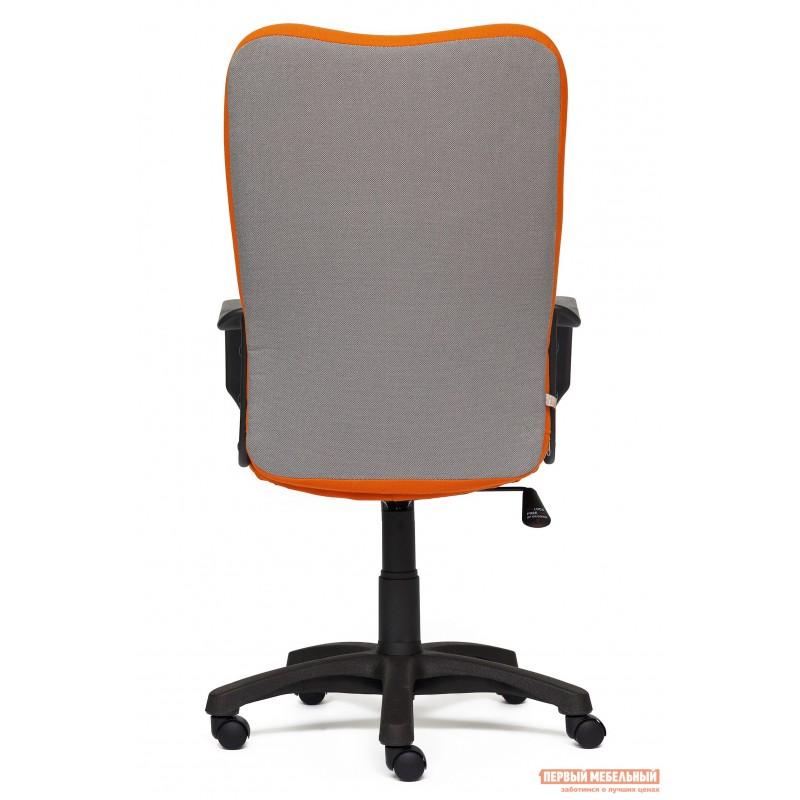 Кресло руководителя  CH757 Ткань серая/оранжевая, С27/С23 (фото 4)