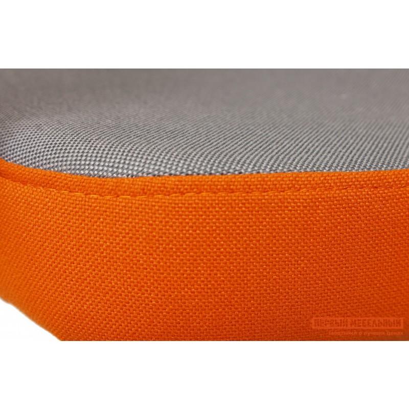 Кресло руководителя  CH757 Ткань серая/оранжевая, С27/С23 (фото 5)