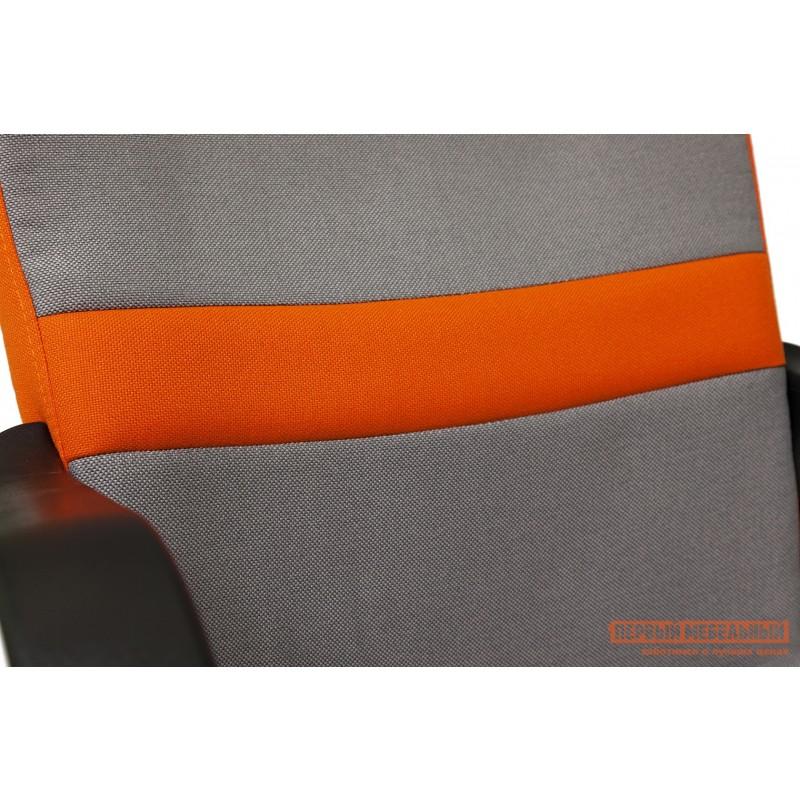 Кресло руководителя  CH757 Ткань серая/оранжевая, С27/С23 (фото 6)