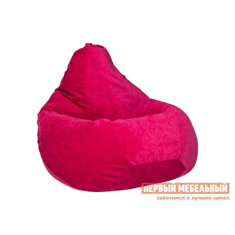 Кресло-мешок  Кресло-мешок Микровельвет Малиновый микровельвет, 3XL