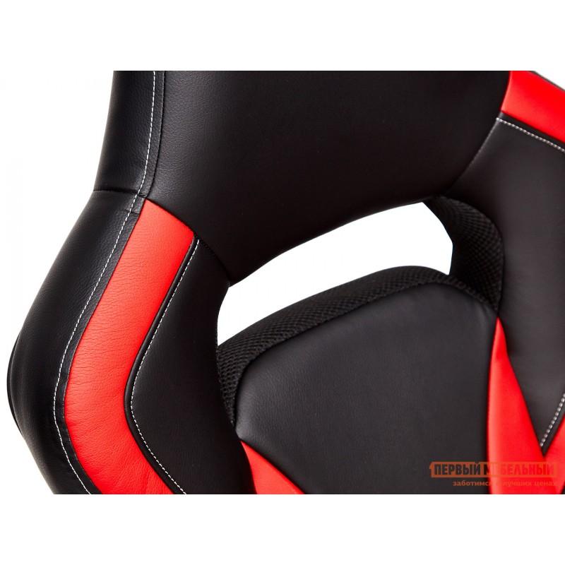 Игровое кресло  Rocket Иск. кожа черная / красная (фото 7)
